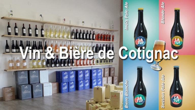 VIN & BIÈRE DE COTIGNAC