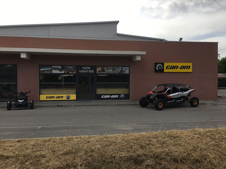 BRP/CAN AM NEW VENTES