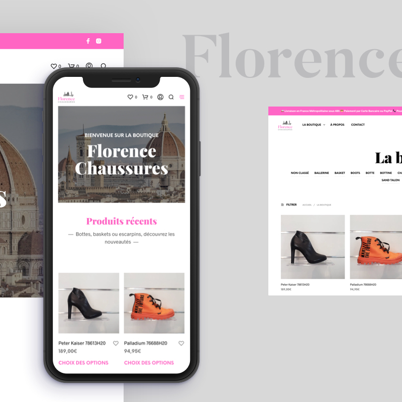 FLORENCE CHAUSSURES